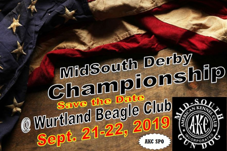 Save the date MidSouth Derby Championship